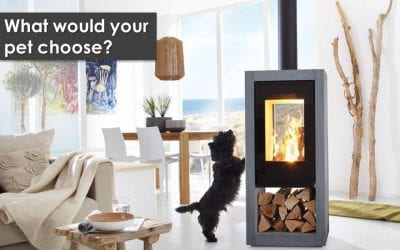 Who loves to cosy up to a fireplace more than you? Your pets!