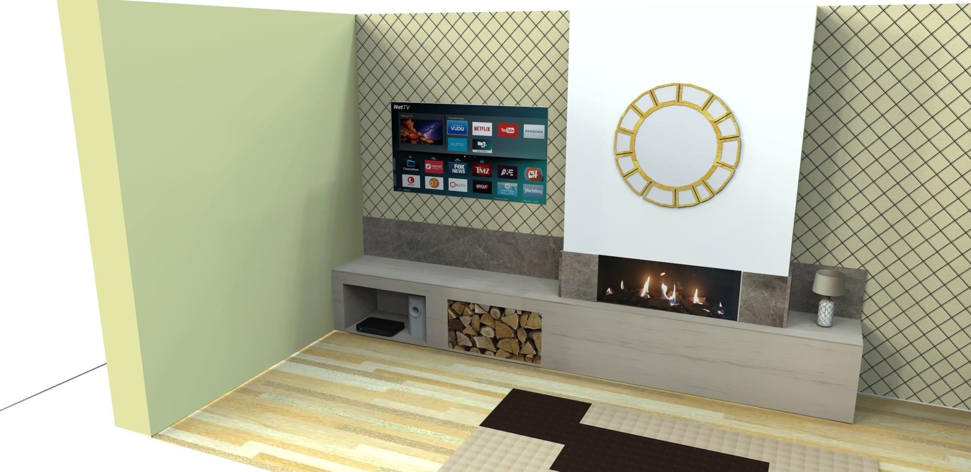 Fireplace Transformation Plan