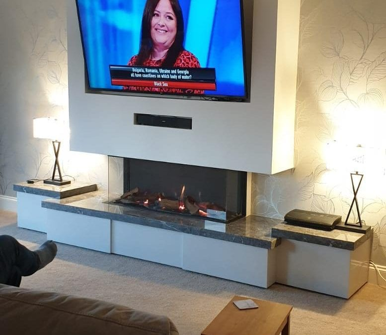 Luxury Fireplace Transformation in Atherton | Greater Manchester