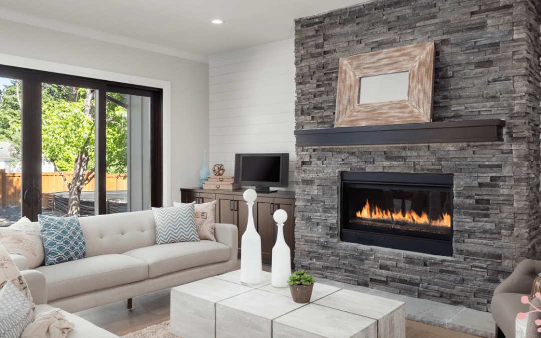 What are the advantages of a Gas fire?