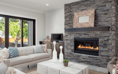 How a fireplace can make you feel more festive this Easter