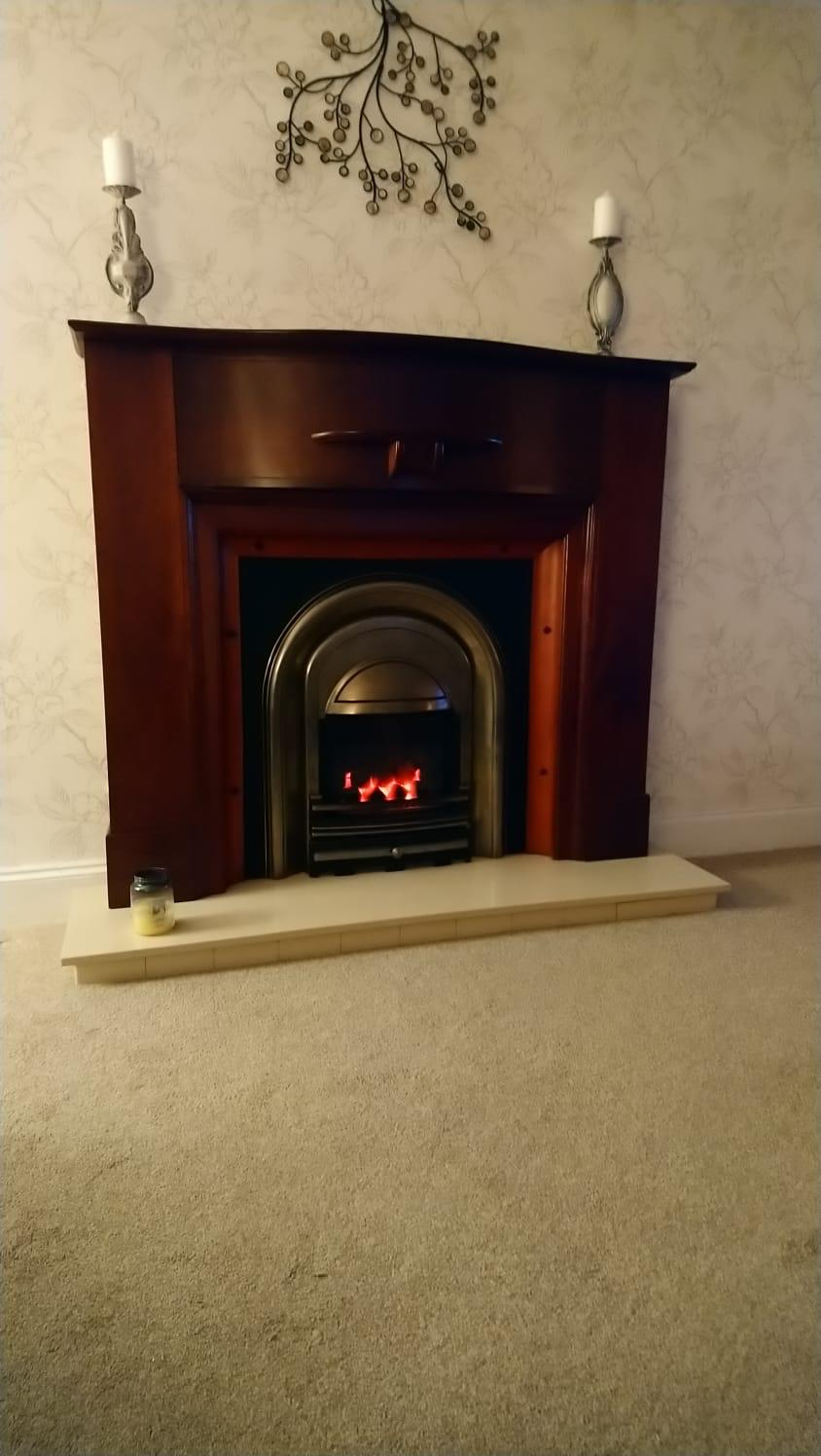 Old Fireplace Design