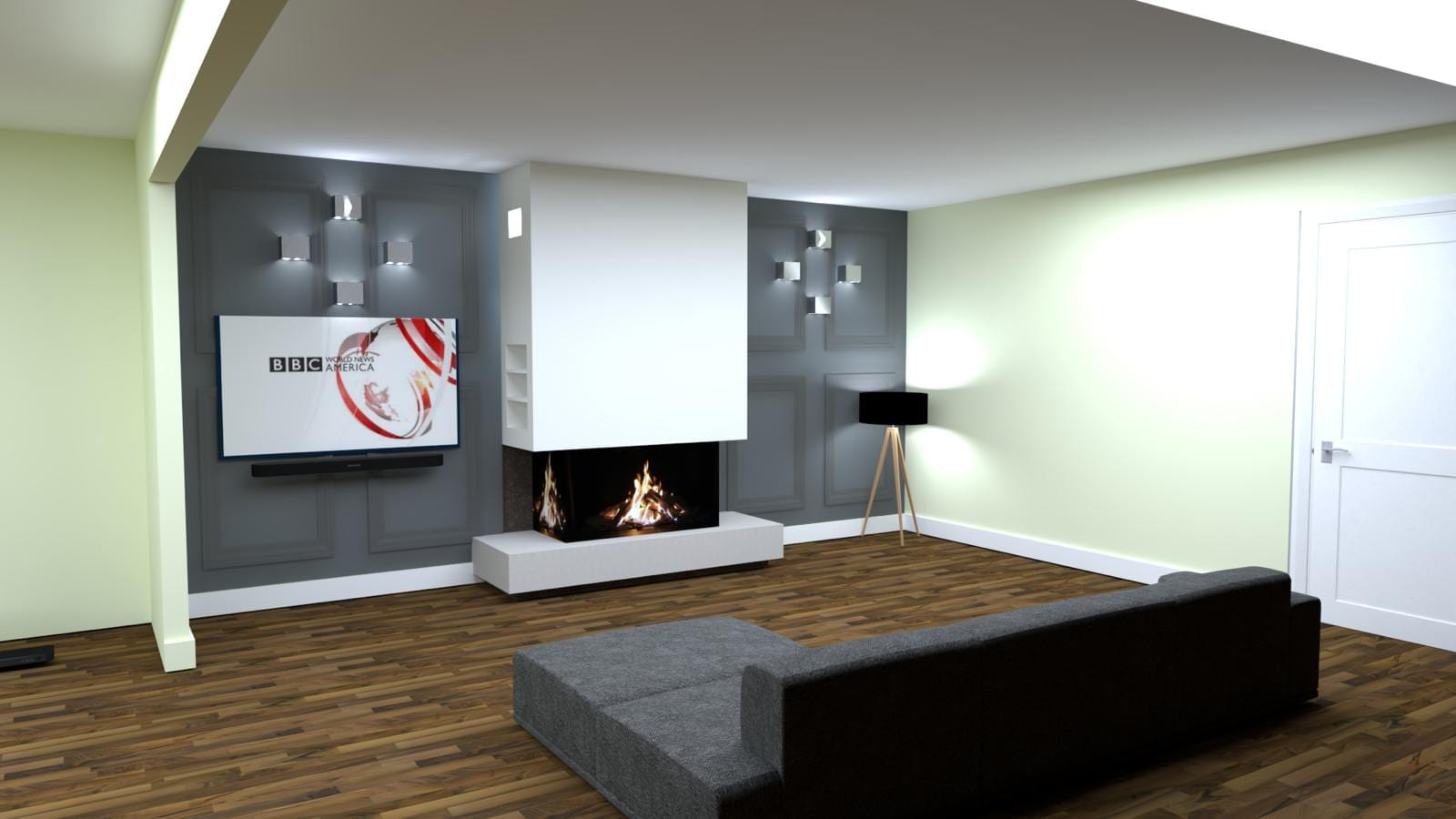 Fireplace CAD drawing Manchester